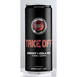 Take Off Energy + Cola Mix