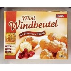 Rewe Mini Windbeutel