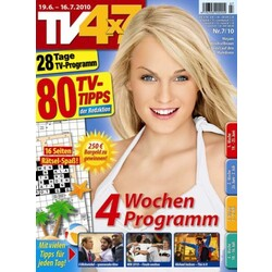 tv 4x7 fernsehzeitung 4196396900904. Black Bedroom Furniture Sets. Home Design Ideas