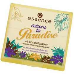 essence - return to Paradise oil control paper
