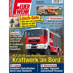 feuerwehr magazin 4199115604503 codecheck info. Black Bedroom Furniture Sets. Home Design Ideas