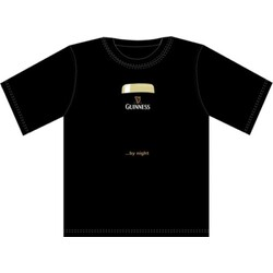 "Guinness T-Shirt Black ""Guinness ...by night"", Size L"