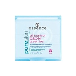 essence - pure skin oil control paper green tea