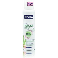 Nivea pure & natural action lotus