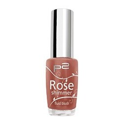 P2 Rose shimmer fluid blush