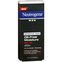 Neutrogena Men Oil-Free Moisture Sensitive Skin SPF30