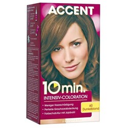 Accent - 10 Minuten Intensiv-Coloration Nr. 60 Dunkelblond