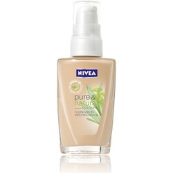 NIVEA Pure & Natural Colours FOUNDATION WITH ARGAN-OIL 02 Nude