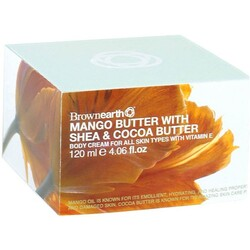 BROWNEARTH - Mango Butter with Shea & Cocoa Butter