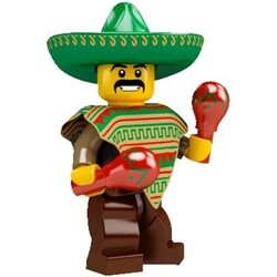 Minifig Series 2-Mexican/Mexikaner