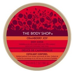Body Shop - Cranberry Joy Body Scrub