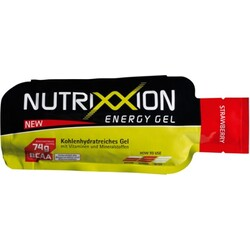 NUTRIXXION Gel Strawberry - Erdbeer 40g, 24er Pack