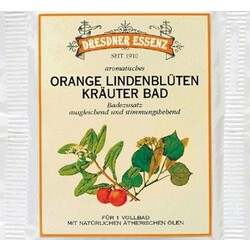 DRESDNER ESSENZ Orange Lindenblüten Kräuter Bad