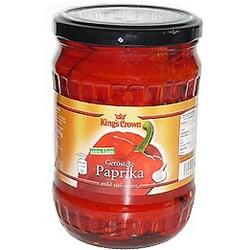 geröstete paprika im glas