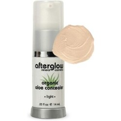 Afterglow Mineral Cosmetics Organic Aloe Concealer - ultra light
