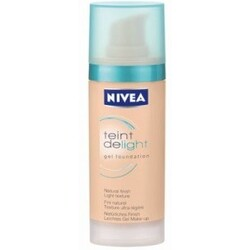 Nivea teint delight gel foundation