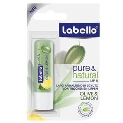 Labello - Pure & Natural Olive & Lemon