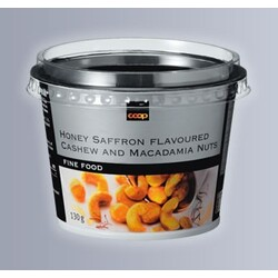 Fine Food Honey Saffron Nuts