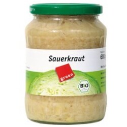 green sauerkraut im glas 4250085778844 codecheck info. Black Bedroom Furniture Sets. Home Design Ideas
