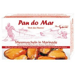 Pan do Mar Miesmuscheln in Marinade