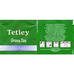 Tetley Green Tea (oriental earl grey)