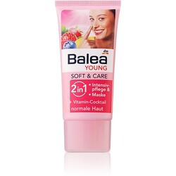 balea young soft & care 2 in 1 intensivpflege und maske