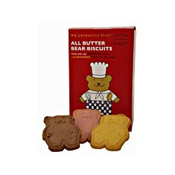 Artisan Biscuits Butterkekse  - My favourite bear All Butter Bear Biscuits (100g Schachtel)