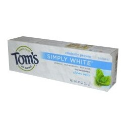 Tom's of Maine - Simply White Whitening Toothpaste