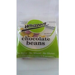 Whizzers chocolat beans