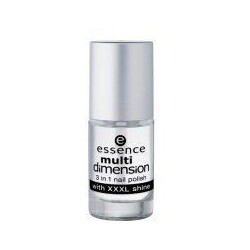 Essence Multi Dimension 3 in 1 Nail Polish (No. 01 Clear As Ice)