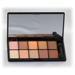 NYX 10 Color Eyeshadow Palette The Runway Collection 04 Catwalk