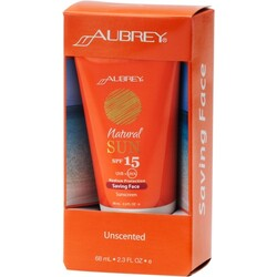 Aubrey Organics - Natural Sun SPF 15+ Saving Face
