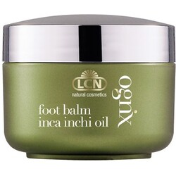 LCN natural cosmetics ognx foot balm inca inchi oil