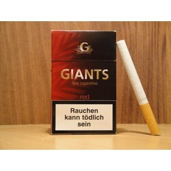 GIANTS Filter Cigarettes Red