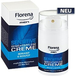 Florena Men - Sensitive Gesichtspflege Creme