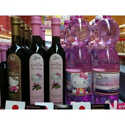 Hello Kitty Mineralwasser