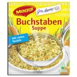 Buchstaben Suppe
