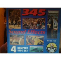 345 Sound Effects 4 Compact Disc Set