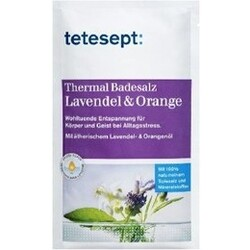 Tetesept Thermal Badesalz Lavendel & Orange