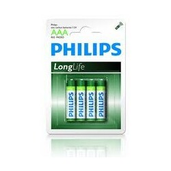 Philips LongLife AAA Micro 1,5 Batterien