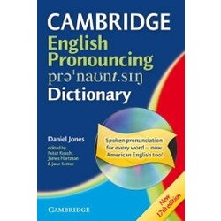 Cambridge English Pronouncing Dictionary, w. CD-ROM