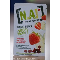Nature Addicts Frucht Snack Erdbeere