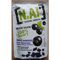 N.A! Nature Addicts Frucht Snack Schwarze Johannisbeere