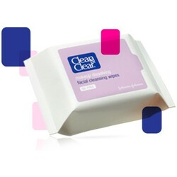 Clean&Clear Facial Cleansing Wipes