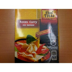 Real THAI Rotes Curry mit Gemüse