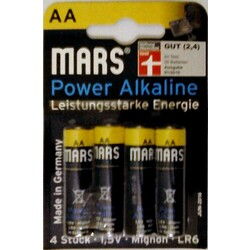 MARS Power Alkaline AA