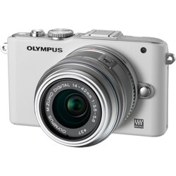 Olympus PEN E-PL3 1442 Kit weiss/silber