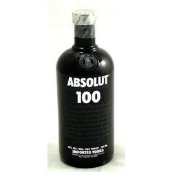 Absolut 100 Vodka 50% Vol., 0,7 l