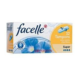 facelle Tampons Super