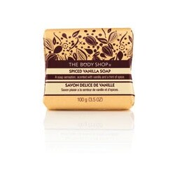 Body Shop - Spiced Vanilla Soap